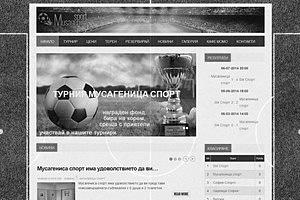 Мусагеница спорт - предлага едни от най-новите минифутболни игрища в София